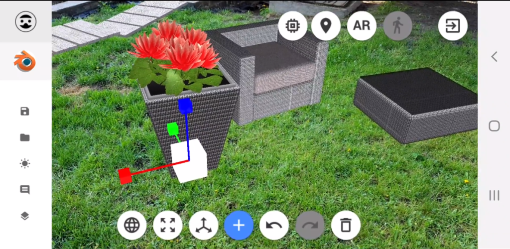 VR landscape design in Virtualist